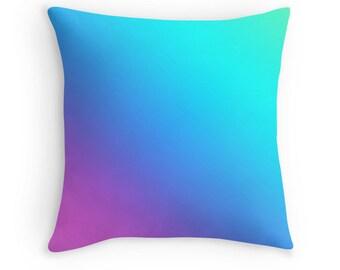 Rainbow Pillow, Rainbow Toss Pillow, Abstract Rainbow Bedding, Rainbow Throw Pillow, Rainbow Pillow, Colorful Rainbow Pillow, Rainbow Decor