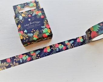 Floral Washi tape, MT, washi, tape, scrapbooking tape, bullet journal, floral washi, crafting tape