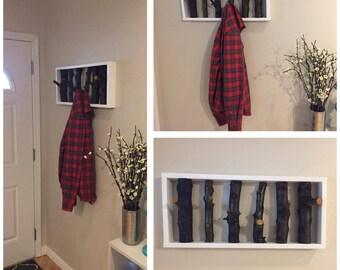Tree Branch Coat Rack