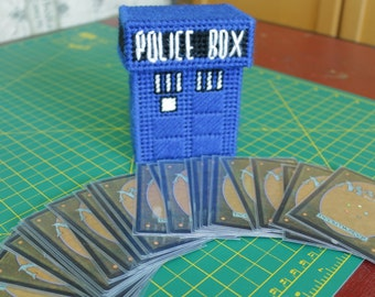 Magic the Gathering TARDIS Deck Box - MtG - PATTERN ONLY