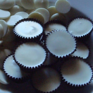 White Chocolate Melt in your mouth Pound of Peanut Butter Cups FREE SHIPPING