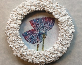 Mini Original Painting | Poppies