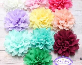 Baby headband, SALE, baby hairband, NEW COLORS, flower headband, newborn headband, infant headband, pink baby headband, ivory baby headband