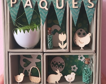 box decoration for Easter