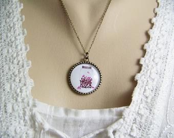 Jar of Hearts Necklace, Jar of Love Necklace, Tree of Life Necklace, Reversible Tree Necklace, Love Necklace, Heart Necklace, Mother's Day