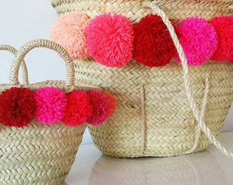 Mother/daughter DUO Beach baskets