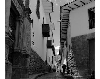 STREETS of Cusco Peru 1 / / photo image for interior decoration / / streets of Cusco gift image