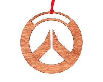 Wooden Overwatch Ornament