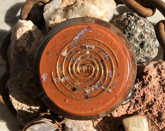 Orgone Charging Plate with Ormus Elixir