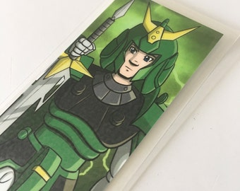 Sage of the Halo, Ronin Warriors, Samurai Troopers, Laminated Bookmark or Mini Print