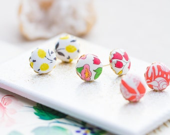 Little Ear Studs, posts, colorful posts, ear posts, gift for her, spring jewelry