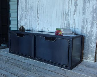 steel industrial style tv Cabinet