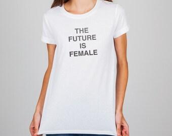 The Future is Female T-shirt.  Feminism T-shirt