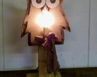 """Owl Night Light. """"ON SALE"""""""