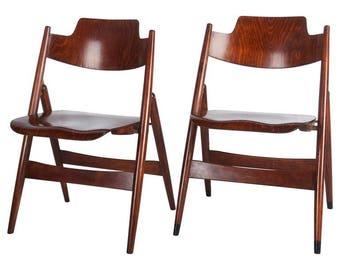Mid-Century Folding Chair by Egon Eiermann