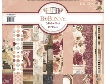 BoBunny : Charmed 12 x 12 Cardstock Collection Pack