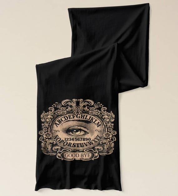 Ouija Mystic Oracle Jersey Scarf