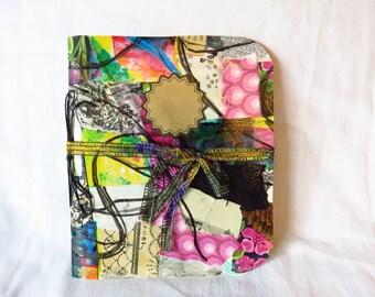 Collaged Mess #5 - Handmade Art Journal