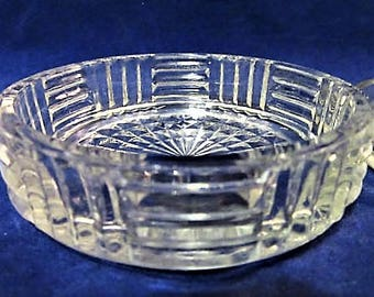 Coaster Clear Glass Round Kitchen Drinks Bar Replacement Dining Vintage blm