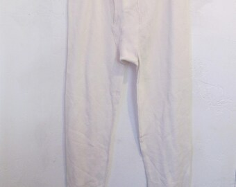 Men's,Never Worn Vintage 90's,Thermal LONG JOHN Underwear By Fruit of The Loom.XL(36-38M)