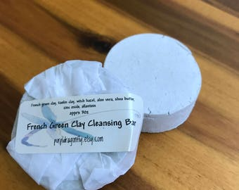 French Green Clay Cleansing Bar