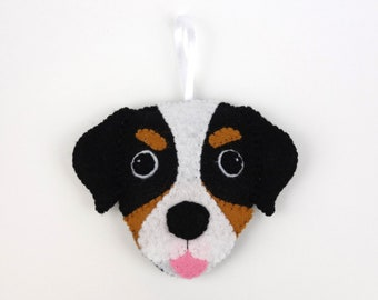 Felt Dog Ornament - Bernese Mountain Dog