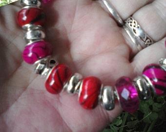 Aids Awareness, Euro style bracelet