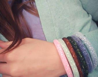Set of beautiful handmade bracelets