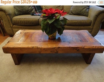 Limited Time Sale 10% OFF Authentic Old Growth Coffee Table - 4 inch thick top