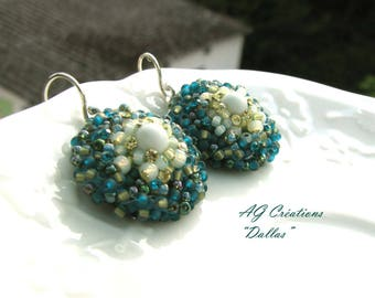 OREILLS EMBROIDERED EARRINGS