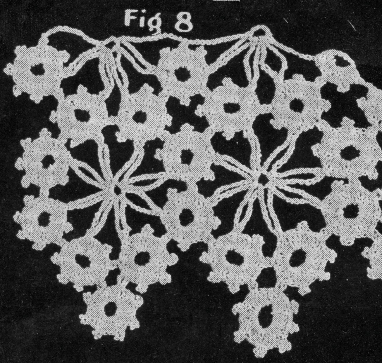 Briar Rose Crochet Lace Pattern Booklet Pdf From Justatetch On Etsy