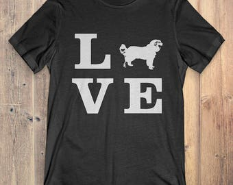 Great Pyrenees Dog T-Shirt Gift: I Love Great Pyrenees