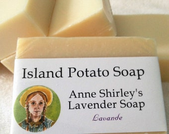 Anne of Green Gables Potato Soap