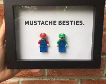 Mario & Luigi Lego Frame
