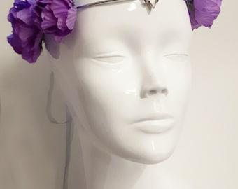 romantic floral crown