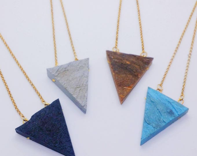 Necklace - RECLAIMED STANDARD - Triangle