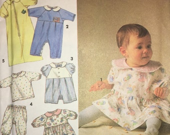 Simplicity 8089 Babies' Layette 1992