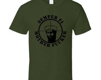 Semper Fi Olive Drab T-shirt