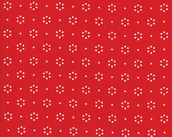 Red Dot -THE GOOD LIFE  by Bonnie & Camille for Moda Fabrics - Floral 55152 11