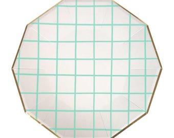 Paper Plates Large Mint Party Plates Paper Party Plates Mint Wedding Nutcracker  sc 1 st  Etsy & Nutcracker plates | Etsy