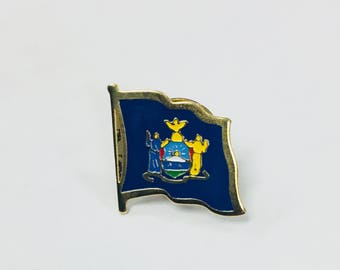 New York State Flag Pins