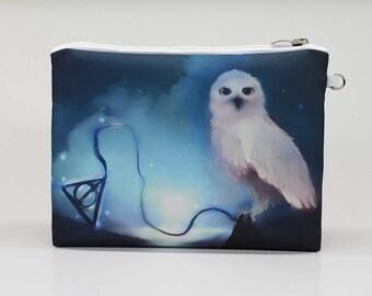 Harry Potter Cosmetic Bag Makeup bag Travel bag Pencil Case Accessory bag Zipper pouch Storage bag Makeup pouch Toiletry bag