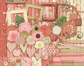 Summer Love - Digital Scrapbooking Kit
