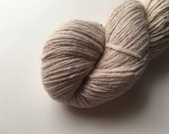 Reclaimed DK Yarn - Wool/Nylon - Oatmeal Heather