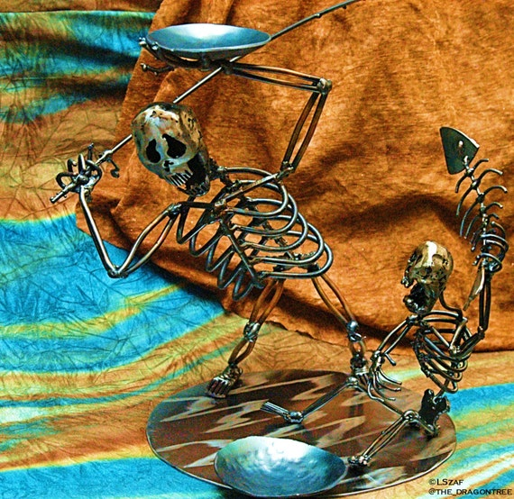 """""""Father and Son"""" ,Morgans Collection, Fishing Trip Metal Sculpture"""