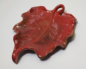Ceramic Leaf Plate