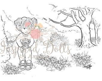Inspired Dolls coloring pages pdf only , coloring pages , coloring