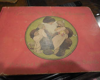 RARE 1912 Twas The Night Before Christmas Illustrated Jesse Wilcox Smith First Edition First Printing