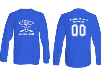 Harry Potter Quidditch Ravenclaw Long Sleeve