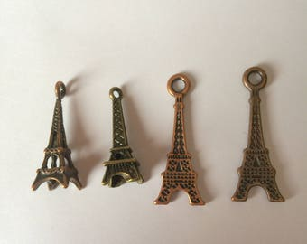 Eiffel Tower bronze or copper